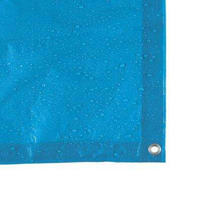 8 ft. x 10 ft. Blue General Purpose Tarp