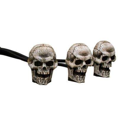 8.7 in. Skull Trio Fog Machine Accessories