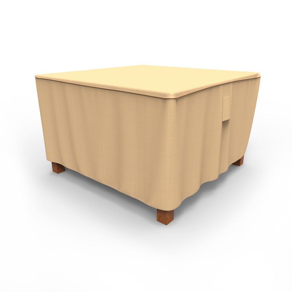 Budge Rust-Oleum NeverWet Medium Tan Outdoor Square Patio Table Cover