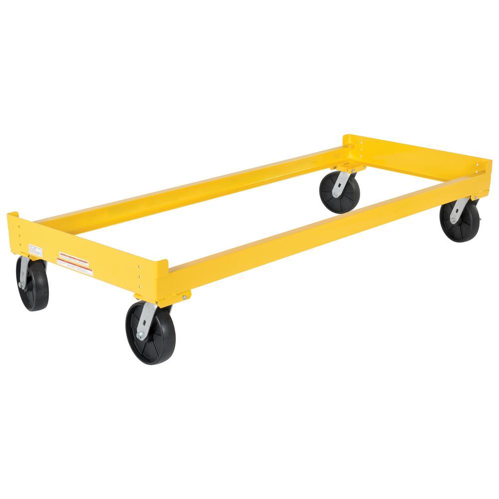 3-Drum Storage Rack Cart