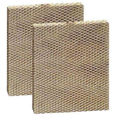 Replacement for Aprilaire 12 Models 112, 136, 224, 225, 440, 445, 448 Humidifier Filter (2-Pack)