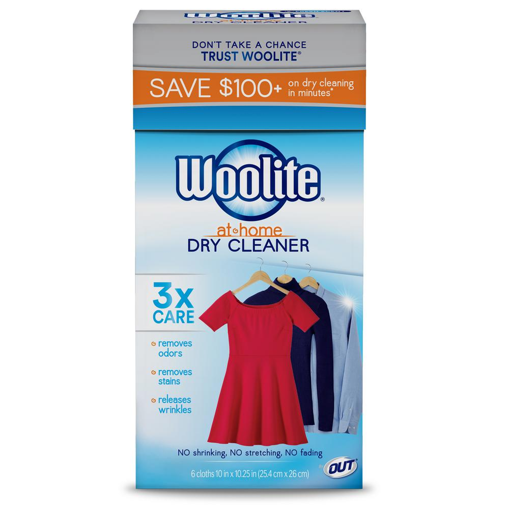 Woolite Fresh Scent At Home Dry Cleaner Dryer Sheets (6 ...