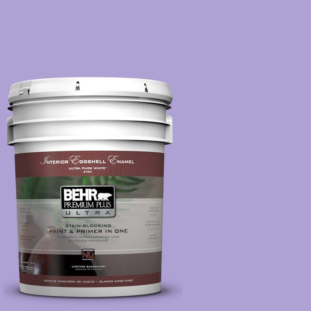 BEHR Premium Plus Ultra 5-gal. #P560-4 Magic Wand Eggshell Enamel Interior Paint