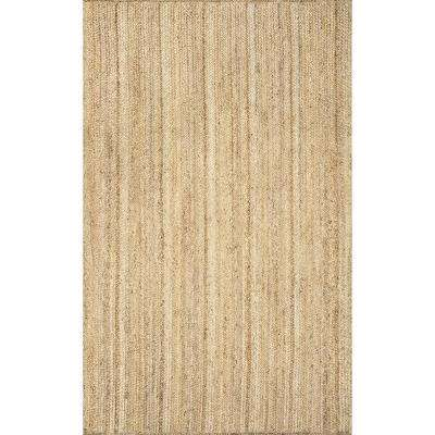 Rigo Jute Natural 12 ft. x 15 ft. Area Rug