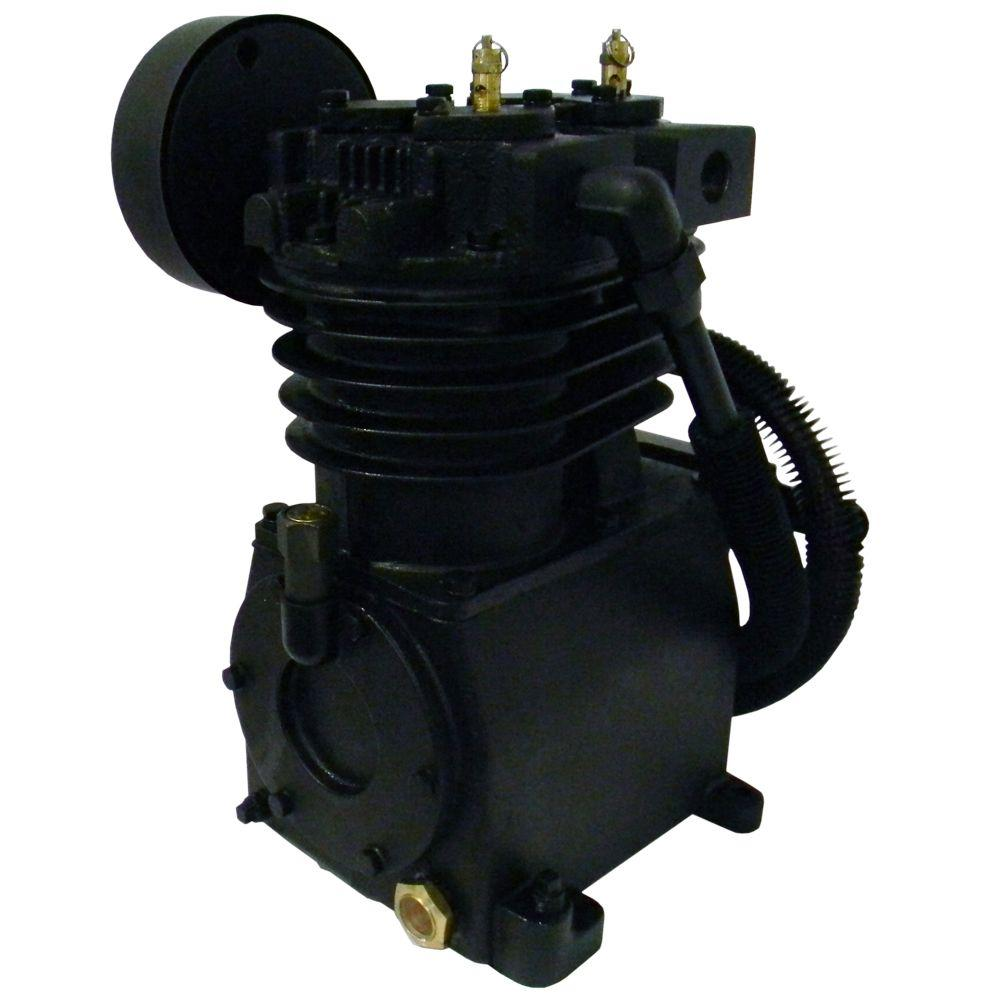 null 2stage cast iron inline air compressor pump