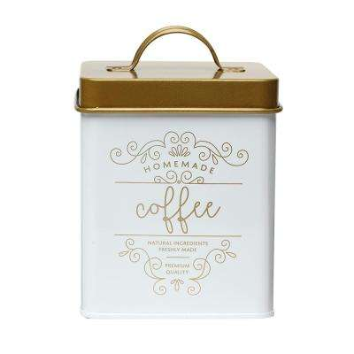 Harper 50 oz. Metal Coffee Storage Canister with Square Shape