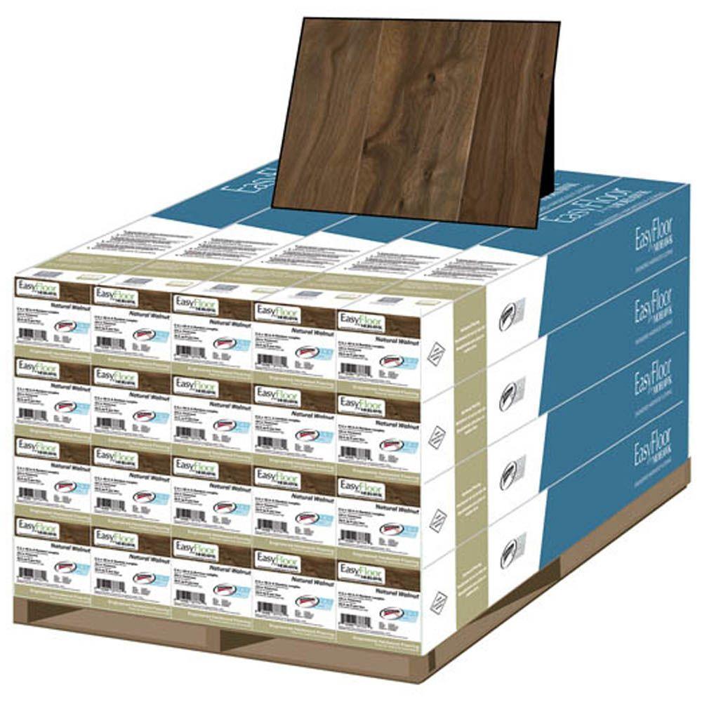 Mohawk Natural Walnut 1/2 in. T x 5 in. Wide x Random Length Soft Scraped Engineered Hardwood Flooring (375 sq. ft. / pallet)