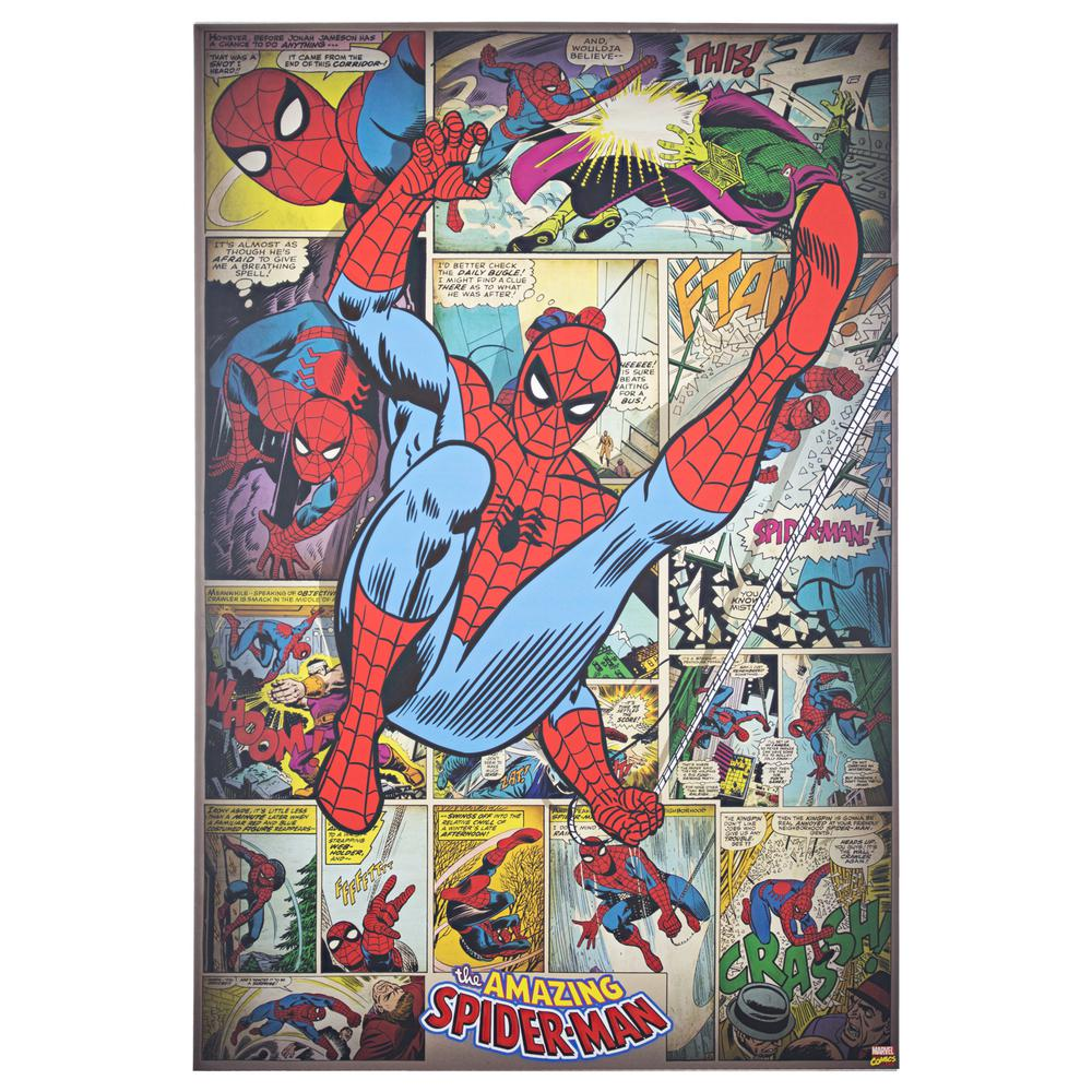 Marvel Super Hero Collage Characters Giant Wall Art poster Print