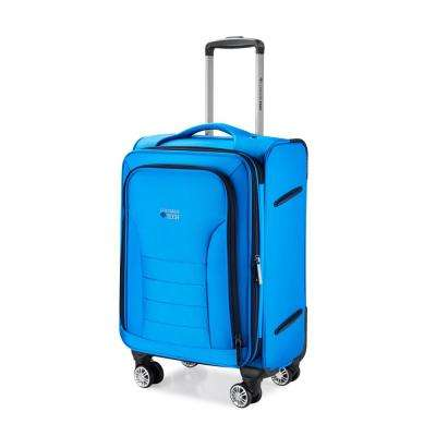 Luggage Tech Melbourne Collection 20 in. Smart Luggage - Blue