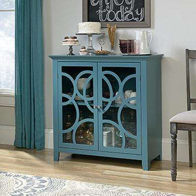 Shoal Creek Moody Blue Accent Storage Cabinet