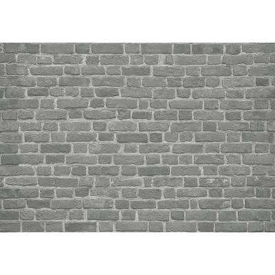 Brick Wall Black Wall Mural