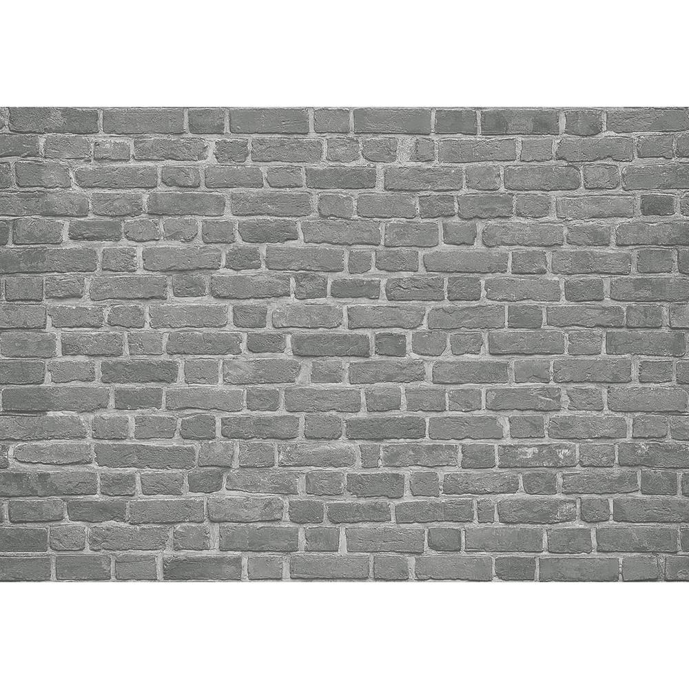 Brick Wall Black Wall Mural