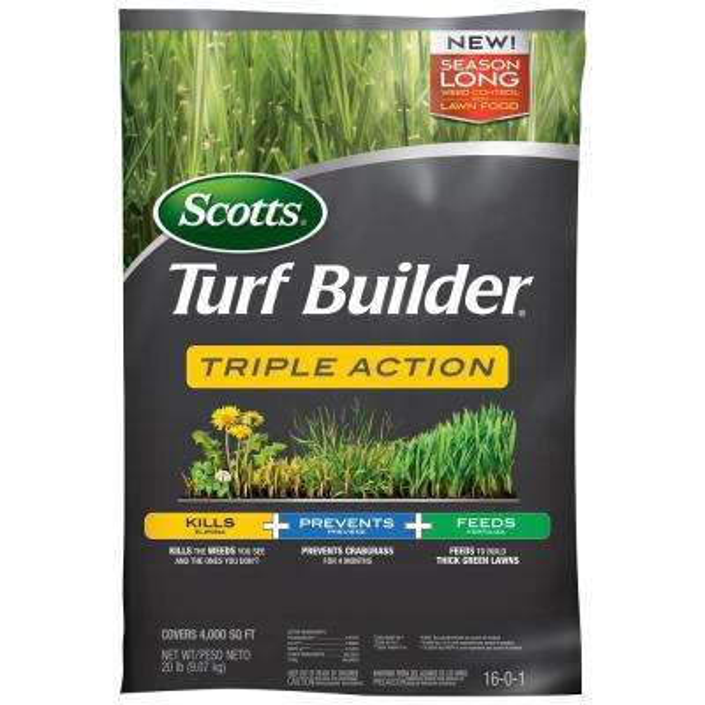 Turfbuilder 4M 20.07 lbs. Triple Action Fertilizer