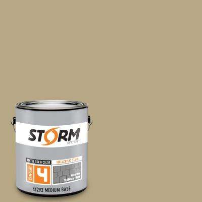 Category 4 1 gal. Tiki Tan Matte Exterior Wood Siding 100% Acrylic Latex Stain