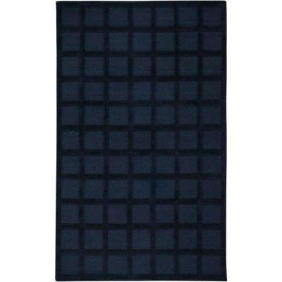 Galaxy Navy Blue 3 ft. x 5 ft. Area Rug