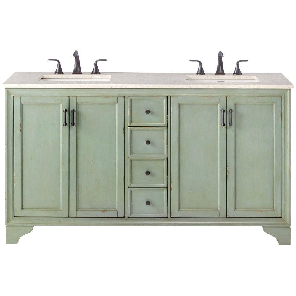 pictures of double sink bathroom vanities bosconi 60in