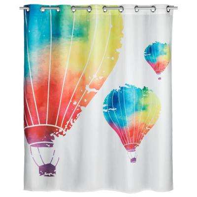 Flex 78 in. In the Air Shower Curtain