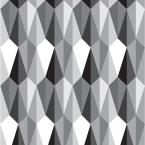 Mitchell Black Debut Collection TingTing in Black/White Removable and Repositionable Wallpaper