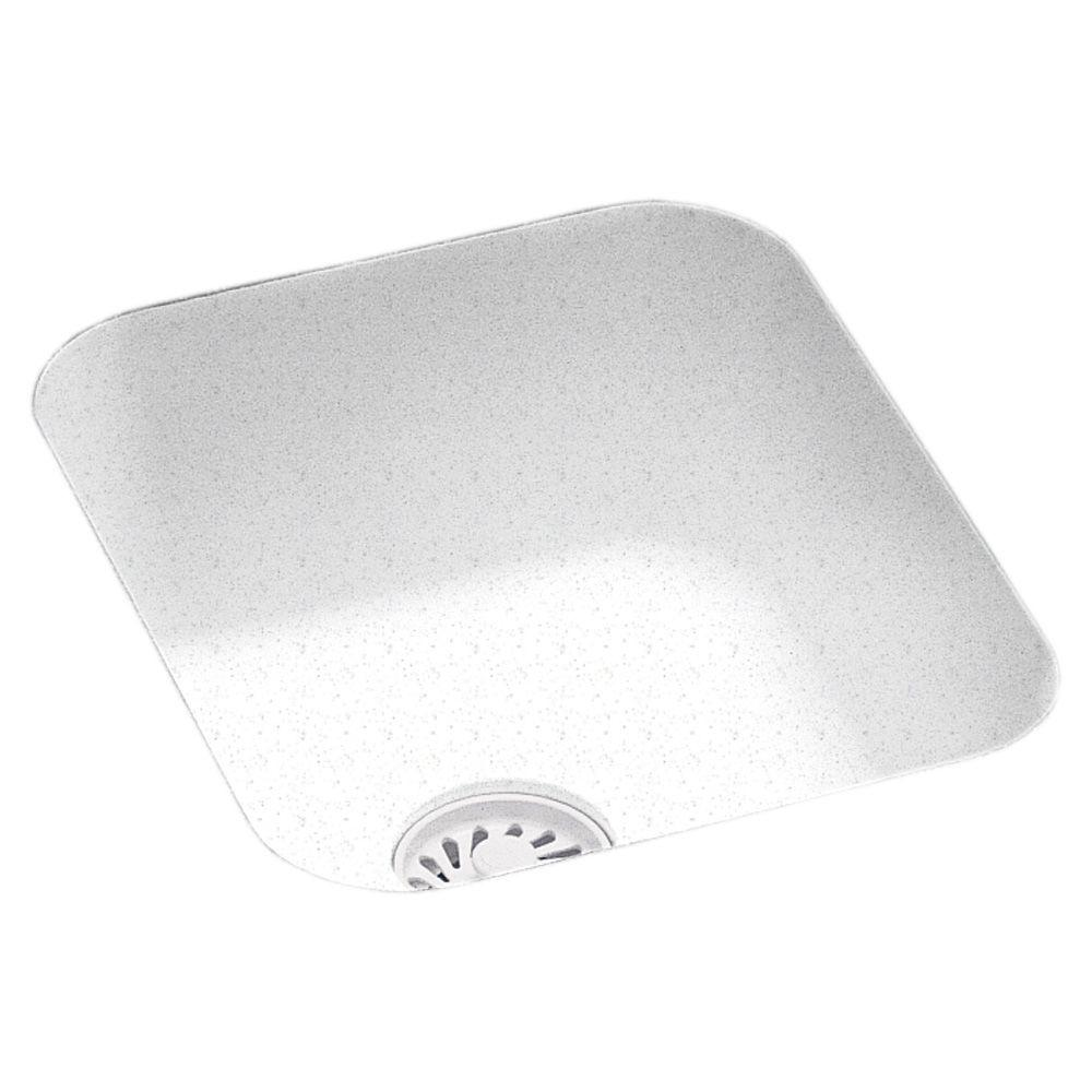 Swan Undermount Solid Surface 13 4 In Single Bowl Bar