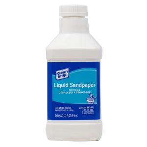 1 qt. Liquid Sandpaper Cleaner & Deglosser