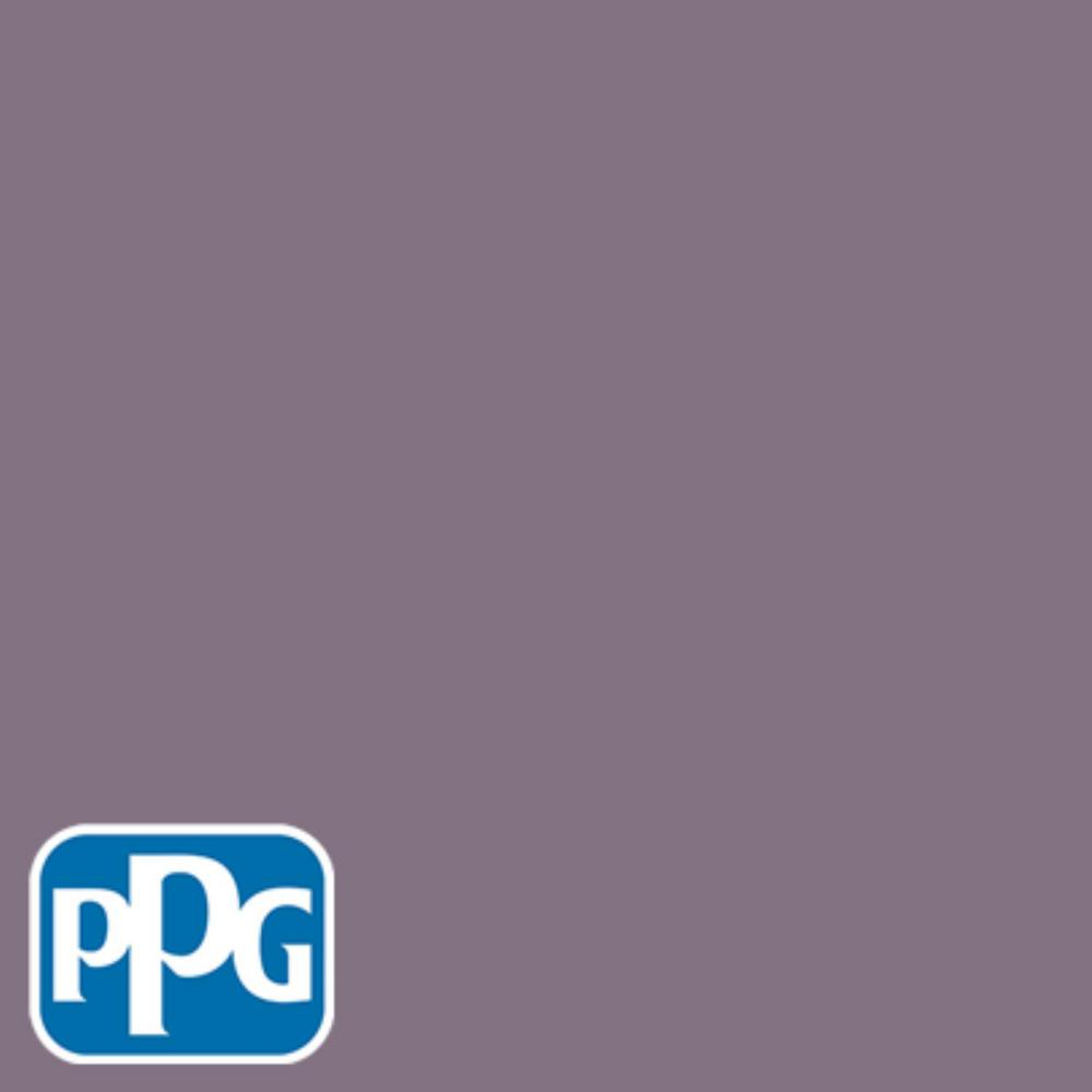 PPG TIMELESS 8 oz. #HDPPGV64U Heathers Plum Flat Interior/Exterior Paint Sample