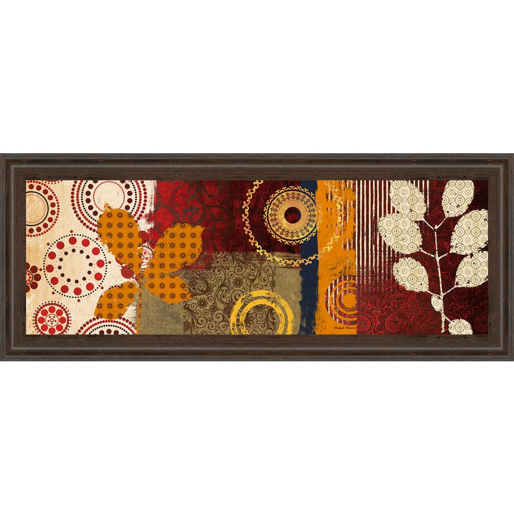 "18 in. x 42 in. ""Fall Leaf Panel I"" by Michael"