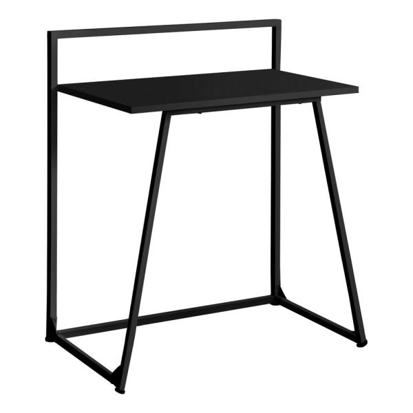 30 in. Rectangular Writing Desk with Open Storage