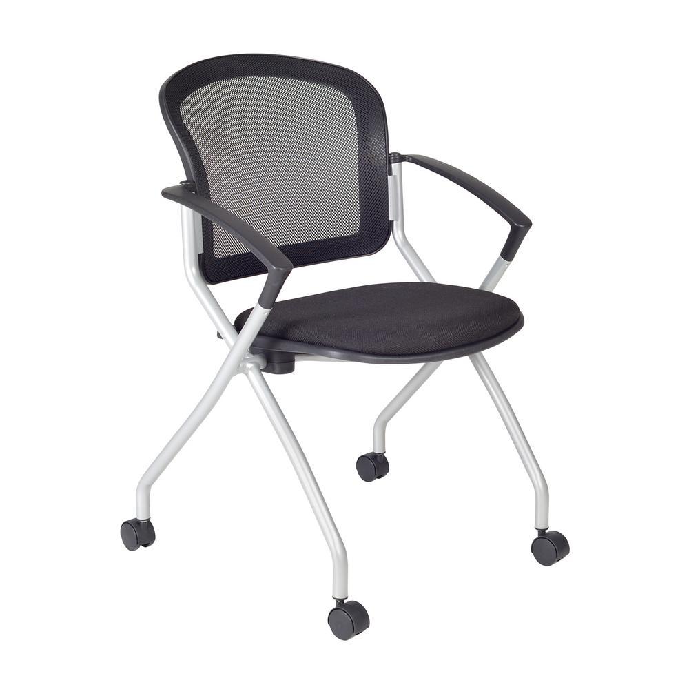 Regency Cadence Black Nesting Chair