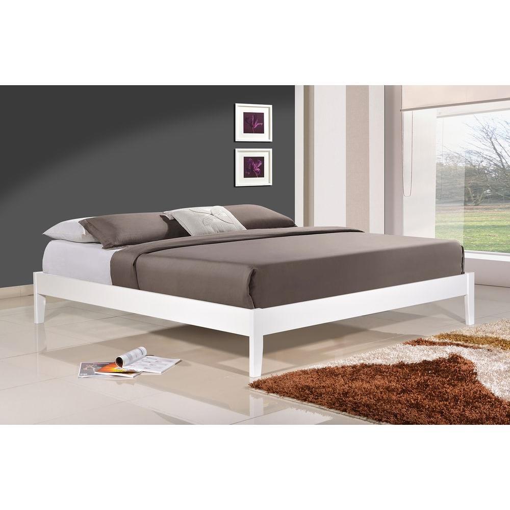 Manhattan Queen Wood Platform Bed