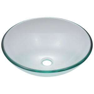 MR Direct Glass Vessel Sink in Crystal by MR Direct