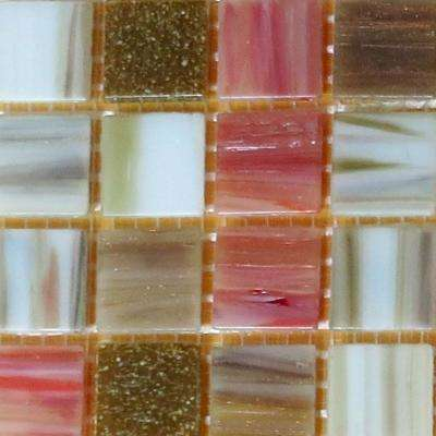 12 in. x 12 in. x 4 mm Glass Mosaic Tile DIY Kit (10 sq. ft./case)