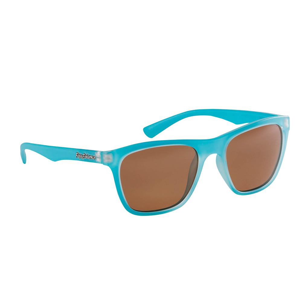 f68e2068e50e Flying Fisherman. Fowey Polarized Sunglasses Azure Frame with Copper Lens