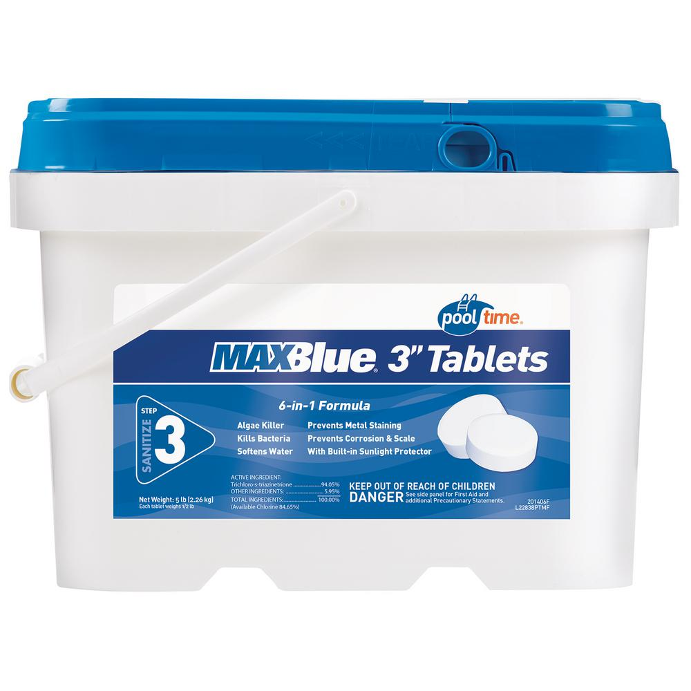 MAXBlue 5 lb. 3 in. Tablets