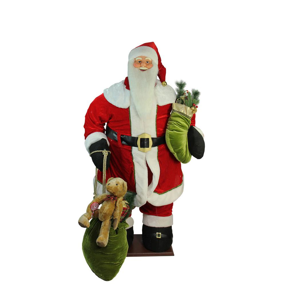 Northlight 60 in. Christmas Life-Size Deluxe Animated Musical ...