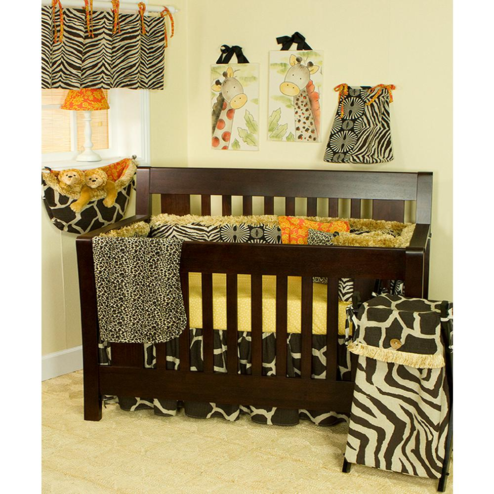 Cotton Tale Designs Sumba 55 in. L Cotton Valance Brown A...