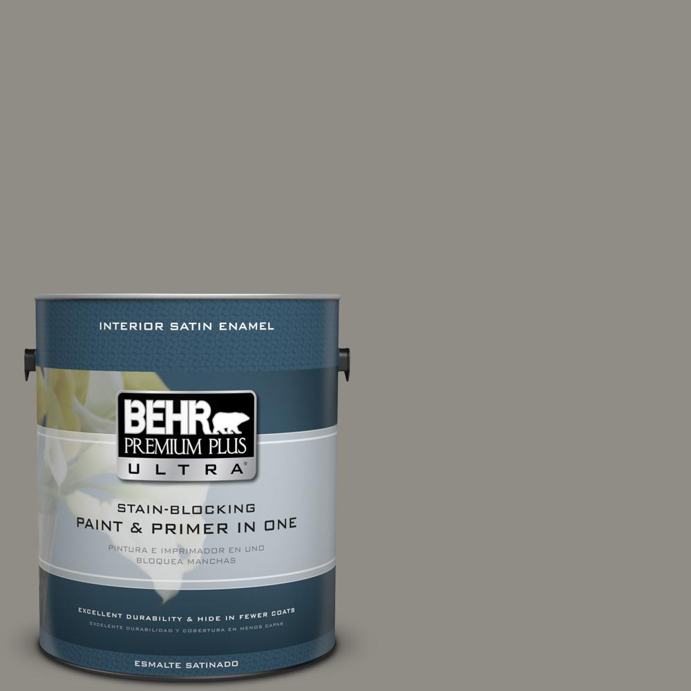 1 gal. #PPU24-08 Parador Stone Satin Enamel Interior Paint