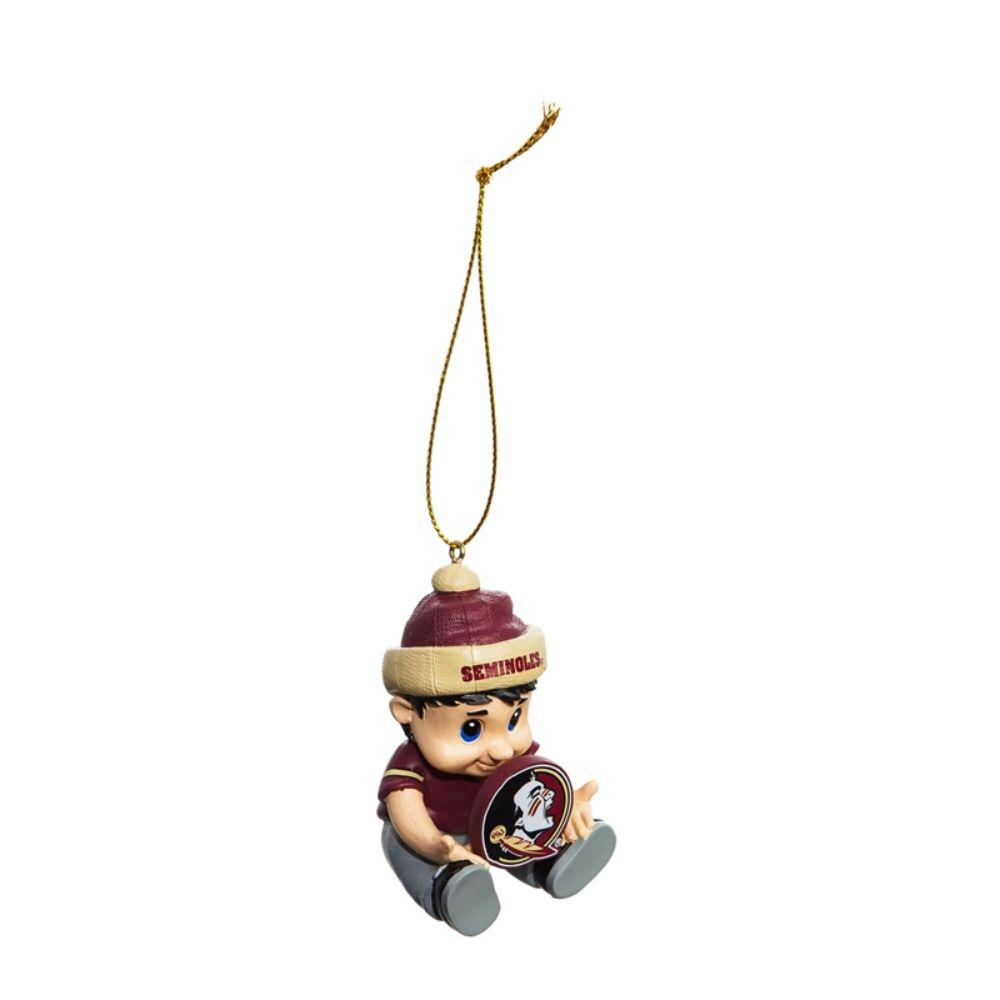 Team Sports America Florida State University 2 In Ncaa New Lil Fan Christmas Ornament