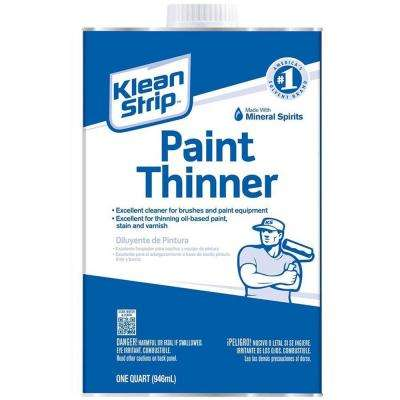 1 qt. Paint Thinner