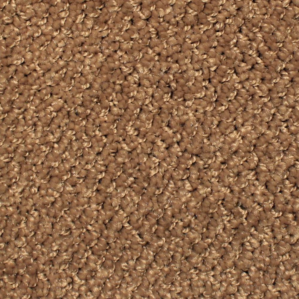 Home Decorators Collection Carpet Sample Cross Plains Color Aztec Rust Pattern 8 In X