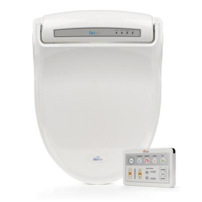 Supreme Electric Bidet Seat for Round Toilets in White