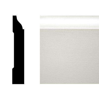 WM 623 9/16 in. x 3-1/4 in. Pine Primed Finger-Jointed Base Moulding