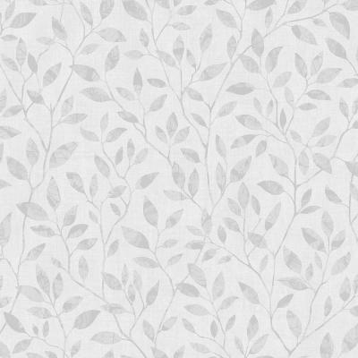 8 in. x 10 in. Willow Light Grey Silhouette Trail Wallpaper Sample