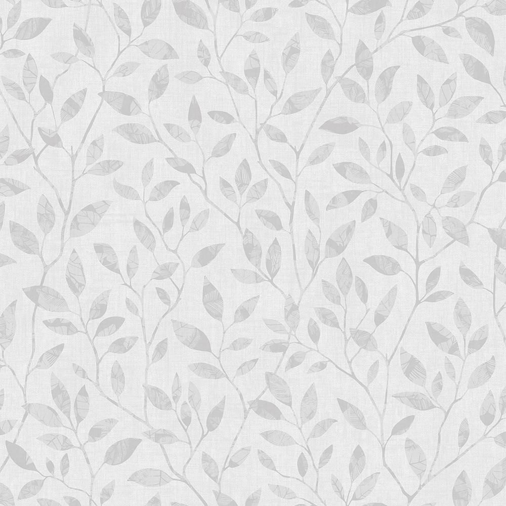 Willow Light Grey Silhouette Trail Light Grey Wallpaper Sample