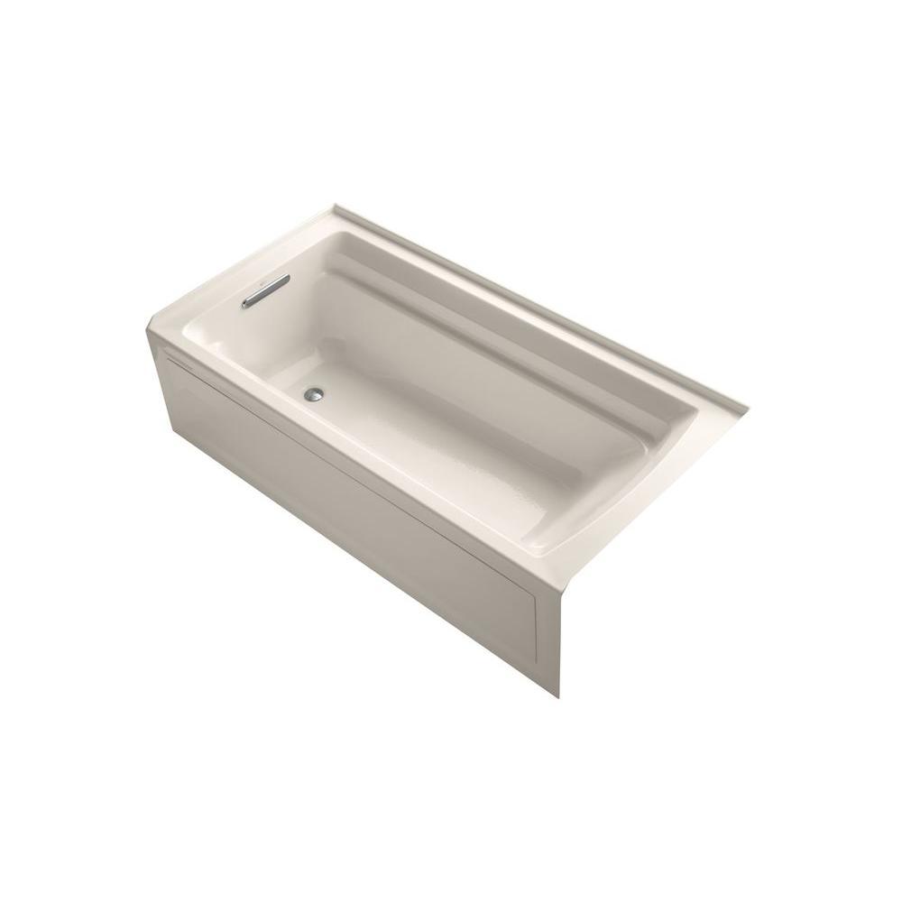 Kohler Left Drain Bathtub Innocent Blush 2514