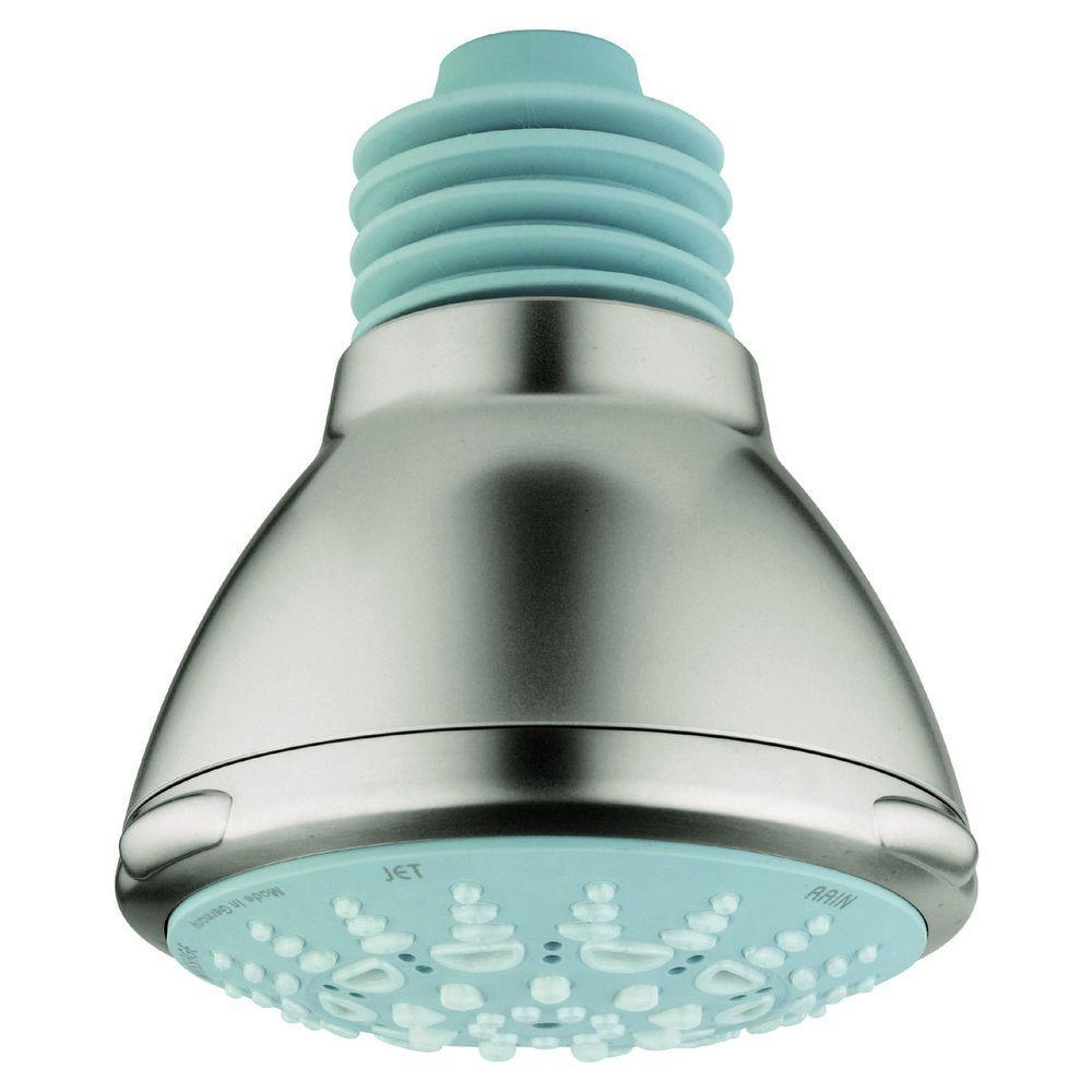 Relexa Ultra 5-Spray 4 in. Showerhead in Infinity Brushed Nickel