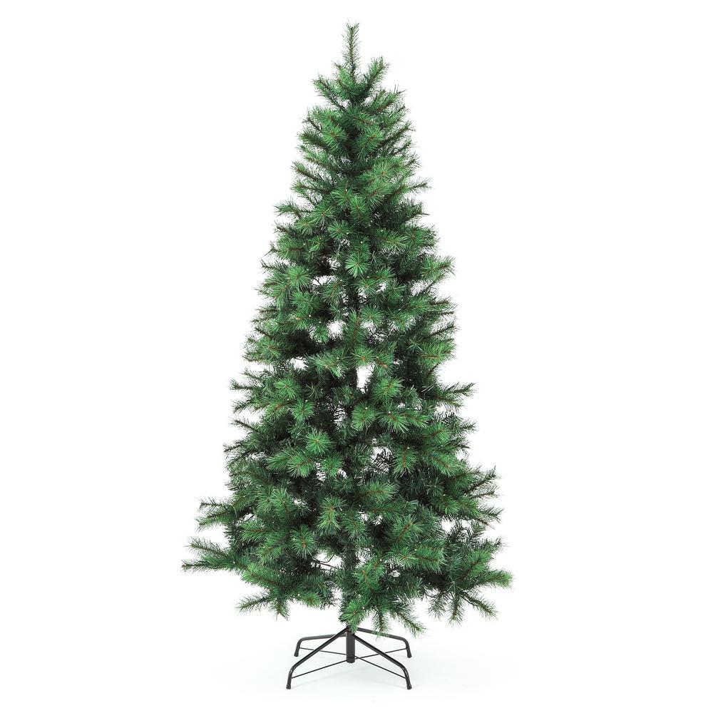 7 ft. Pre-Lit LED Houston Pine Christmas Tree with 350-Lights
