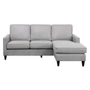 Nori Reversible Gray Chaise Sectional by