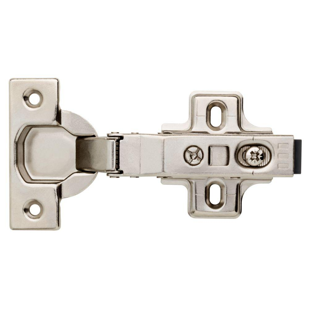 Everbilt 35 mm 110-Degree Full Overlay Soft Close Cabinet Hinge (1-Pair)