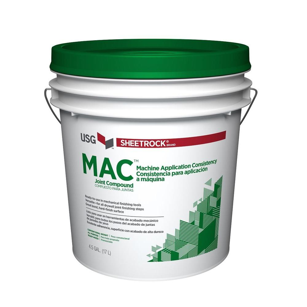 MAC 4.5 Gal. Pre-Mixed Joint Compound
