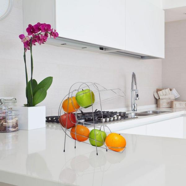 Chef Buddy Curved Fruit Chute Kitchen Accessory